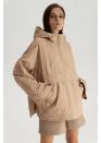 Куртка-худи, бежевый