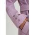 Пальто из шерсти, лиловый