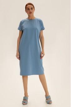 Платье-футболка, голубой