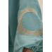 Костюм с коротким кимоно, бирюзовый